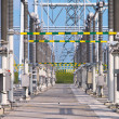 Stock Photo: Transformation power station landscape closeup