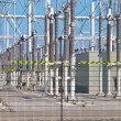 Stock Photo: Transformation power station diagonal