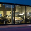 Luxury cars at dealership — Stock Photo #14705437