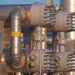 Close up of modern natural gas processing plant — Stock Photo #14706273