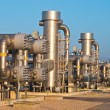 Natural gas processing site — Stock Photo