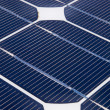 One unit on solar panel — Stock Photo #14706505