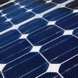 Solar panel is generating electricity — Stock Photo