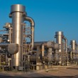 Royalty-Free Stock Photo: A modern natural gas processing plant