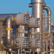 Royalty-Free Stock Photo: Part of a modern natural gas processing plant