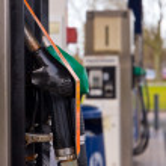 Fuel nozzles — Stock Photo