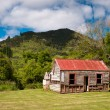 Abandoned historical cabin — Stock Photo