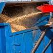 Wood Chipper Machine — Stock Photo