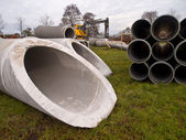 Construction pipes — Stock Photo