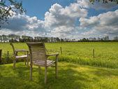 Deux chaises de jardin — Photo