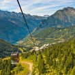 Cable Car French Alps — Stock Photo
