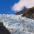 Stock Photo: Crevasse on glacier