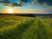 Sunset trail — Stock Photo