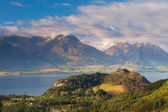 The Mountains near Queenstown New Zealand — Stock Photo