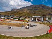 Alp dHuez Supermotard — Stock Photo