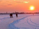 Grupy łyżwiarzy — Zdjęcie stockowe