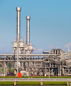 Natural Gas Processing Plant — Stock Photo