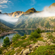 Beautiful Mountain Lake - Stock Photo