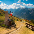 French Alps Mountain View — Stock Photo #23266022