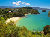 Bay with Sandy Beach — Stock Photo