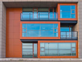 Cubic Design Office Building Exterior — Stock Photo