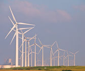Heaps of Wind Turbines — Foto de Stock