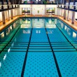 Big Indoor Swimming Pool — Stock Photo