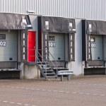 Freight Docks Export Concept — Stock Photo