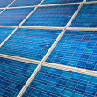 Stock Photo: Photovoltaic solar panel detail