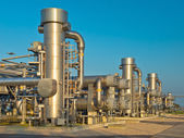 A modern natural gas processing plant — Stock Photo