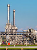 Natural Gas Field Plant — Stock Photo