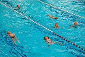 Swim Class Kids — Stock Photo