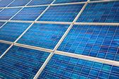 Photovoltaic solar panel detail — Stock Photo