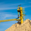 Conveyor Sand Mine — Stock Photo