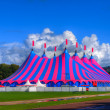Big Top Circus Tent in Bright Colors — Stock Photo #37124175