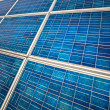 Close up of a solar panel — Stock Photo