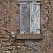 Stock Photo: Facade of Old French House