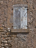 Facade of an Old French House — Stock Photo