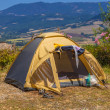 Camping Place Valley — Stock Photo #39376267