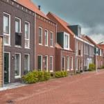 New Town Neighborhood — Stock Photo