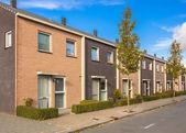 Modern Street Terrace Houses — Stock Photo