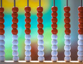 Traditional Abacus in a School — Stock Photo
