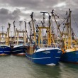Stock Photo: Modern fishing fleet