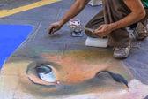 Street Artist — Stock Photo