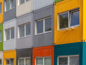 Colorful Apartment Building — Stock Photo