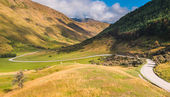 Winding Valley Road on the way to Moke Lake — Stock Photo