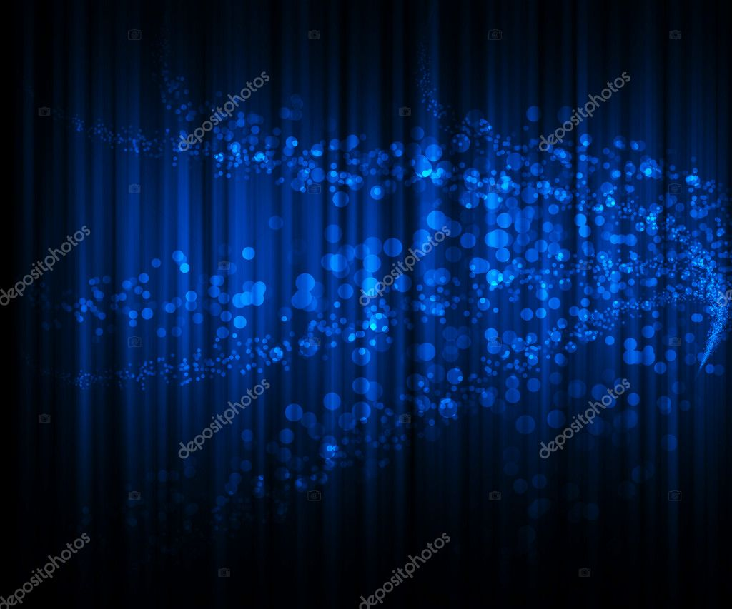 Beautiful blue abstract light background  Stock Photo #14825013