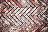 Weathered brick wall — Stock Photo