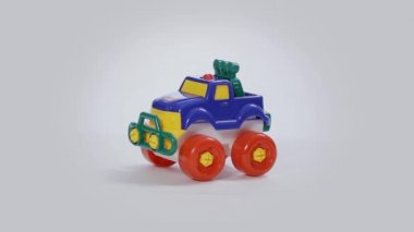 4x4 Toy Car — Stok video