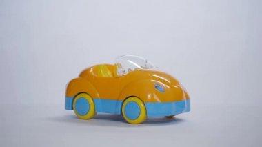 Kabriolet autíčko — Stock video